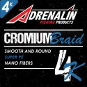 NEW ADRENALIN CROMIUM BRAID